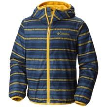 Columbia Sportswear Pixel Grabber II Wind Jacket (For Kids) in Stinger Stripe - Closeouts