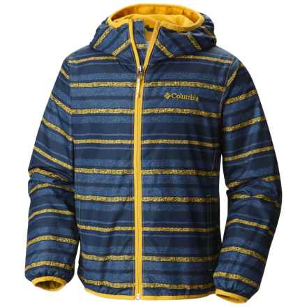 Columbia Sportswear Pixel Grabber II Wind Jacket (For Little and Big Kids) in Stinger Stripe - Closeouts