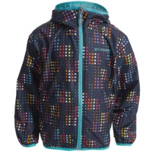 Columbia Sportswear Pixel Grabber Wind Jacket (For Kids) in Nocturnal Pixel - Closeouts