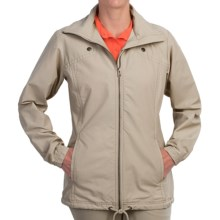 Columbia Sportswear Pleasant Cape Jacket - UPF 15 (For Women) in Fossil - Closeouts