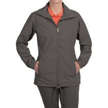 Columbia Sportswear Pleasant Cape Jacket - UPF 15 (For Women) in Grill - Closeouts