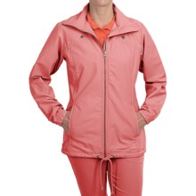 Columbia Sportswear Pleasant Cape Jacket - UPF 15 (For Women) in Hot Coral - Closeouts