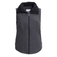 Columbia Sportswear Polished High-Performance Vest (For Plus Size Women) in Black - Closeouts
