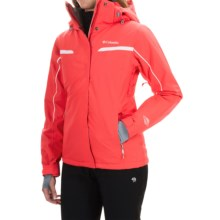 Columbia Sportswear Powder Dash Omni-Heat® Jacket - Waterproof, Insulated (For Women) in Red Hibiscus - Closeouts