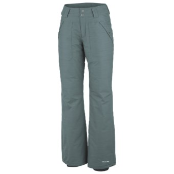 Columbia Sportswear Powder People Omni-Heat® Snow Pants - Insulated (For Women) in Metal