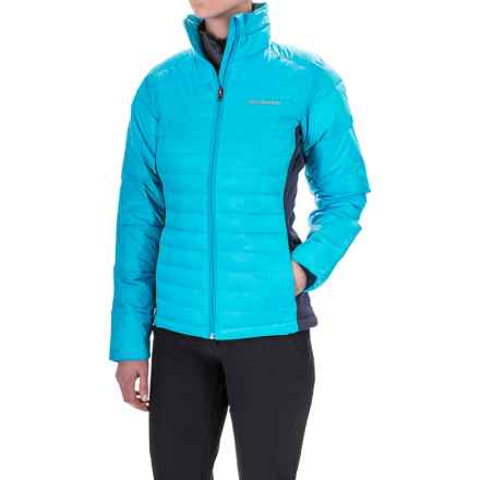 Columbia Sportswear Powder Pillow Hybrid Jacket - Insulated (For Women) in Atoll - Closeouts