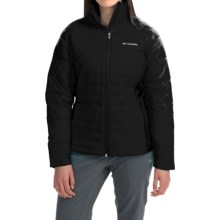 Columbia Sportswear Powder Pillow Hybrid Jacket - Insulated (For Women) in Black - Closeouts
