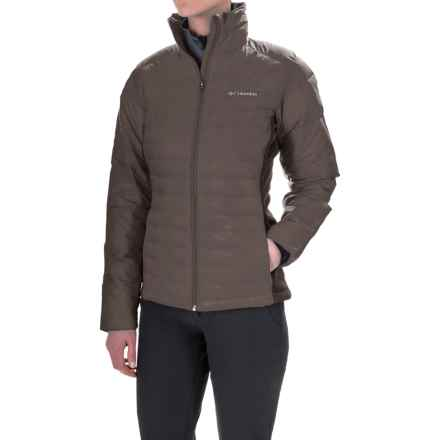Columbia Sportswear Powder Pillow Hybrid Jacket - Insulated (For Women) in Mineshaft - Closeouts