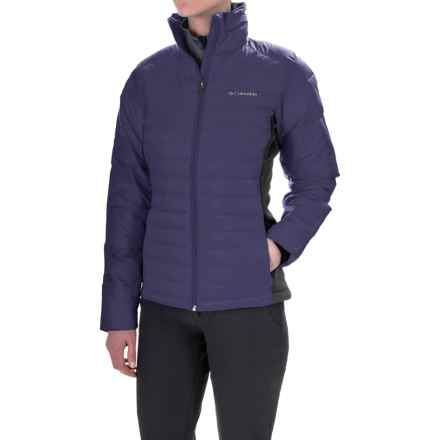 Columbia Sportswear Powder Pillow Hybrid Jacket - Insulated (For Women) in Nightshade - Closeouts