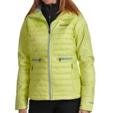 Columbia Sportswear Powder Pillow Jacket - Insulated (For Women) in Neon Light - Closeouts