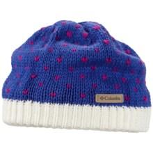 Columbia Sportswear Powder Princess Hat - Fleece Lining (For Girls) in Blue Macaw - Closeouts