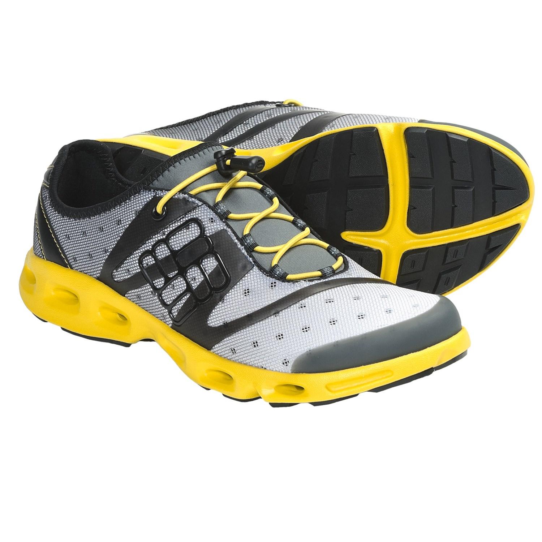Columbia Sportswear Powerdrain Water Shoes (For Men) in Asphalt/Laser
