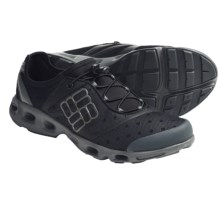 Columbia Sportswear Powerdrain Water Shoes (For Men) in Black/Asphalt - Closeouts