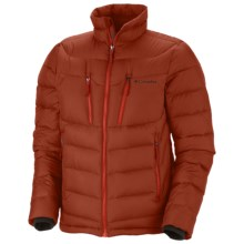 Columbia Sportswear Powerfly Down Puff Omni-Heat® Jacket - 800 Fill Power (For Men) in Sanguine - Closeouts