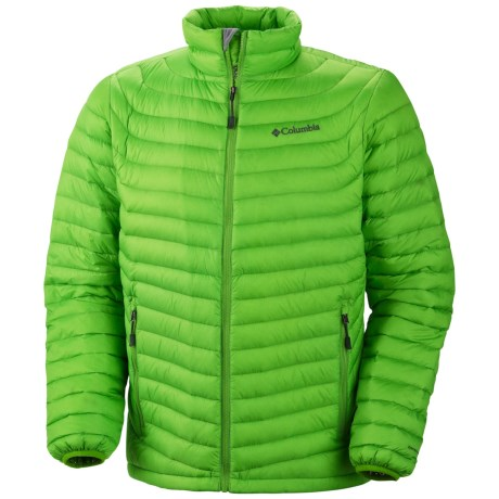Columbia Sportswear Powerfly Omni-Heat® Down Jacket - 800 Fill Power (For Men) in Dark Compass
