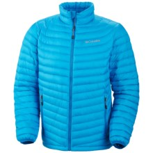 Columbia Sportswear Powerfly Omni-Heat® Down Jacket - 800 Fill Power (For Men) in Dark Compass - Closeouts