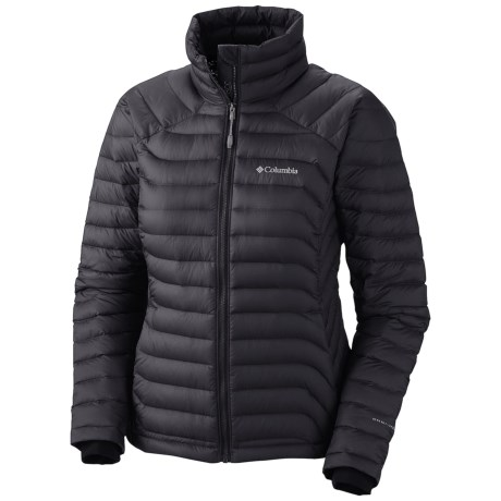 Columbia Sportswear Powerfly Omni-Heat® Down Jacket - 800 Fill Power (For Women) in Black