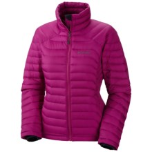 Columbia Sportswear Powerfly Omni-Heat® Down Jacket - 800 Fill Power (For Women) in Deep Blush - Closeouts
