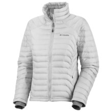 Columbia Sportswear Powerfly Omni-Heat® Down Jacket - 800 Fill Power (For Women) in Ice Grey - Closeouts
