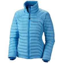 Columbia Sportswear Powerfly Omni-Heat® Down Jacket - 800 Fill Power (For Women) in Riptide - Closeouts