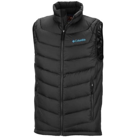Columbia Sportswear Powerfly Omni-Heat® Down Vest - 800 Fill Power (For Men) in Black