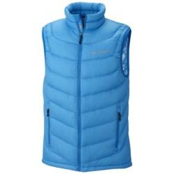 Columbia Sportswear Powerfly Omni-Heat® Down Vest - 800 Fill Power (For Men) in Dark Compass