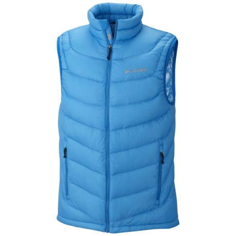Columbia Sportswear Powerfly Omni-Heat® Down Vest - 800 Fill Power (For Men) in Dark Compass