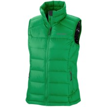 Columbia Sportswear Powerfly Omni-Heat® Down Vest (For Women) in Fuse Green - Closeouts