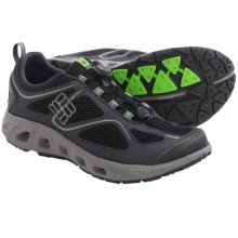 Columbia Sportswear Powervent Water Shoes (For Men) in Black/Nuclear - Closeouts