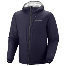Columbia Sportswear Premier Packer Omni-Heat® Hoodie Sweatshirt - Insulated (For Men) in Ebony Blue - Closeouts