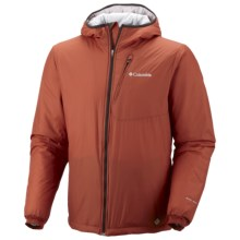 Columbia Sportswear Premier Packer Omni-Heat® Hoodie Sweatshirt - Insulated (For Men) in Sanguine - Closeouts