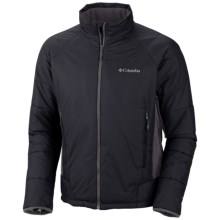 Columbia Sportswear Premier Packer Omni-Heat® Hybrid Jacket (For Men) in Black - Closeouts