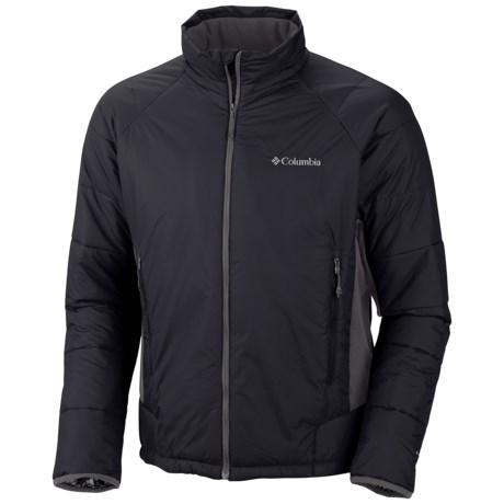 Columbia Sportswear Premier Packer Omni-Heat® Hybrid Jacket (For Men) in Black