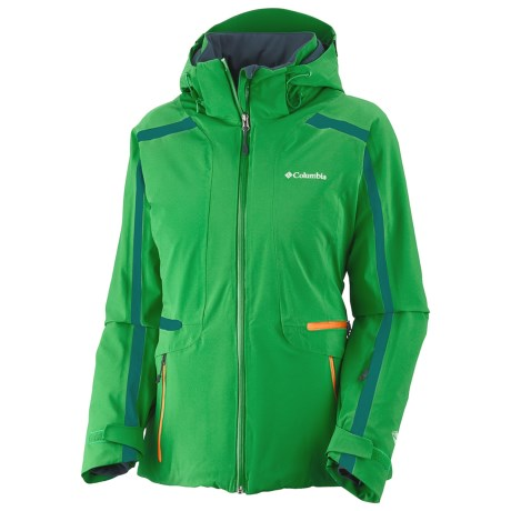 Columbia Sportswear Prima Blur Omni-Heat® Jacket - Waterproof, Insulated (For Women) in Fuse Green