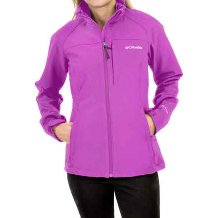 Columbia Sportswear Prime Peak Omni-Wind® Block Soft Shell Jacket (For Women) in Foxglove - Closeouts