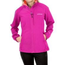 Columbia Sportswear Prime Peak Omni-Wind® Block Soft Shell Jacket (For Women) in Groovy Pink - Closeouts
