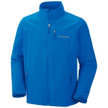 Columbia Sportswear Prime Peak Soft Shell Jacket - Windproof (For Men) in Hyper Blue - Closeouts