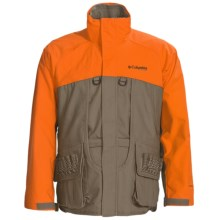 Columbia Sportswear Ptarmigan II Upland Parka - Insulated, 3-in-1 (For Men) in Flax/Blaze - Closeouts