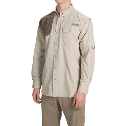 Columbia Sportswear Ptarmigan Zero Shooting Shirt - UPF 50, Long Sleeve (For Men) in Fossil - Closeouts