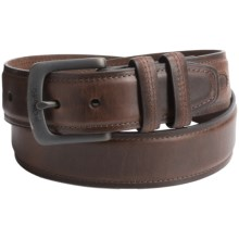 Columbia Sportswear Pull-Up Leather Belt (For Men) in Brown - Closeouts