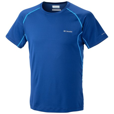 Columbia Sportswear Quickest Wick Base Layer Top - UPF 30, Short Sleeve (For Men) in Royal