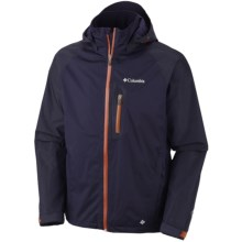 Columbia Sportswear Rain Tech II Omni-Heat®-Omni-Tech® Jacket - Waterproof (For Men) in Ebony Blue - Closeouts