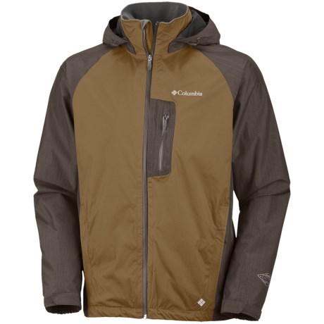 Columbia Sportswear Rain Tech II Omni-Heat®-Omni-Tech® Jacket - Waterproof (For Men) in Marsh