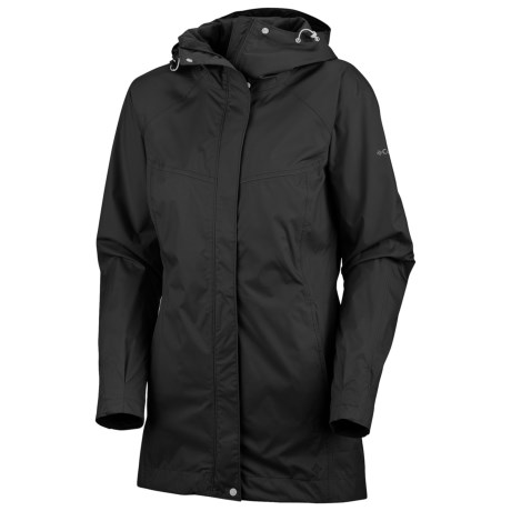 Columbia Sportswear Ramble Rain Jacket - Waterproof (For Women) in Sea Salt