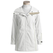 Columbia Sportswear Rambling Rhodie Rain Jacket - Waterproof (For Women) in White - Closeouts