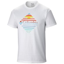 Columbia Sportswear Rapid Rise Graphic T-Shirt - Short Sleeve (For Men) in White - Closeouts