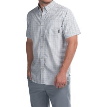 Columbia Sportswear Rapid Rivers II Shirt - Short Sleeve (For Men) in Tusk Small Plaid - Closeouts