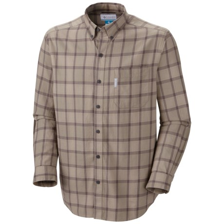 Columbia Sportswear Rapid Rivers Shirt - Long Sleeve (For Men) in Kettle Plaid