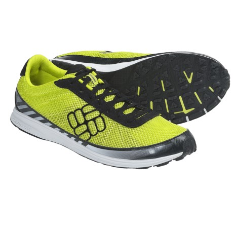 Columbia Sportswear Ravenous Lite Trail Running Shoes - Minimalist (For Men) in Chartreuse/Cool Grey