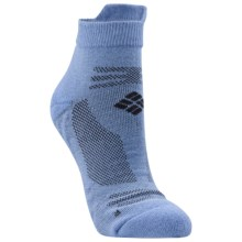 Columbia Sportswear Ravenous Tab Running Socks (For Women) in Alaskan Blue/Grill - Closeouts